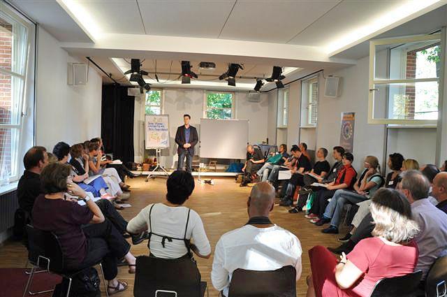 Veranstaltung mit Trainer Sebastian Bayer
